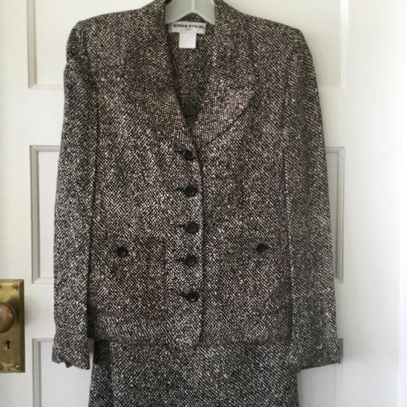 ae4a23ca42 Sonia Rykiel Jackets & Coats | 2 Piece Suits Made In France Euro 36 ...